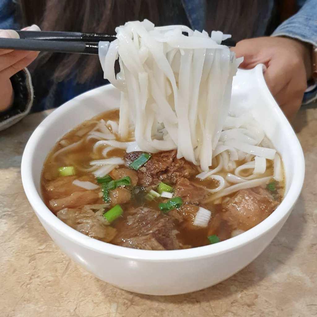 Beef brisket noodles is widely eaten in Hong Kong