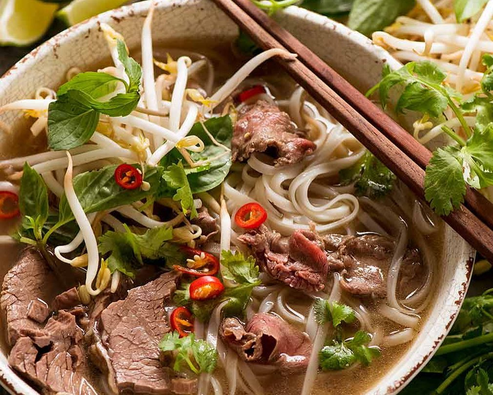 Pho is also a Vietnam food that is loved worldwide