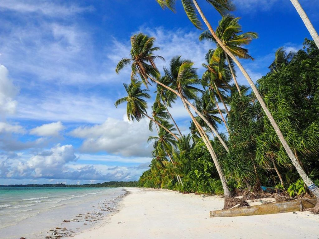 Maluku is home to unspoiled beaches