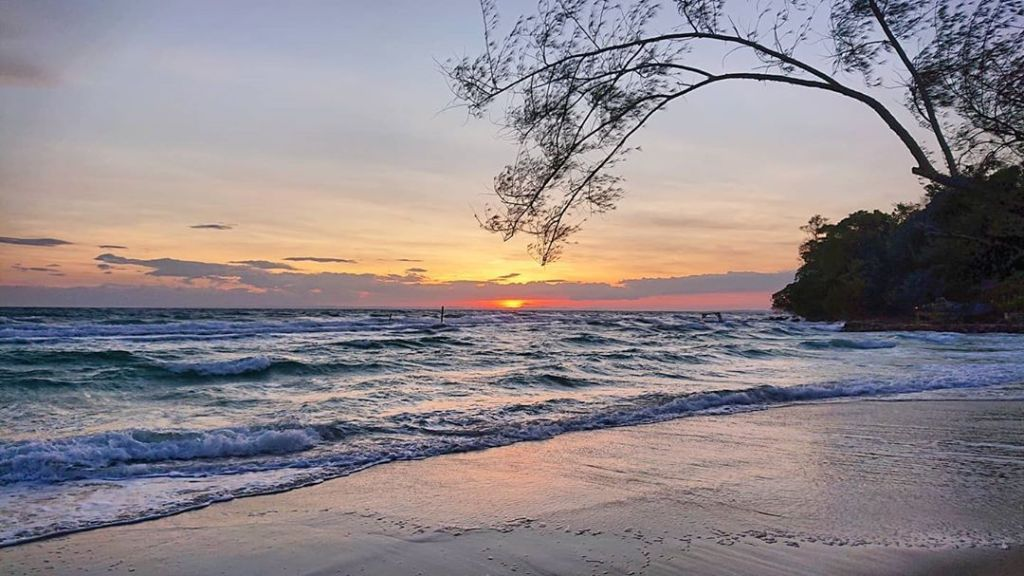 Koh Rong at sunset