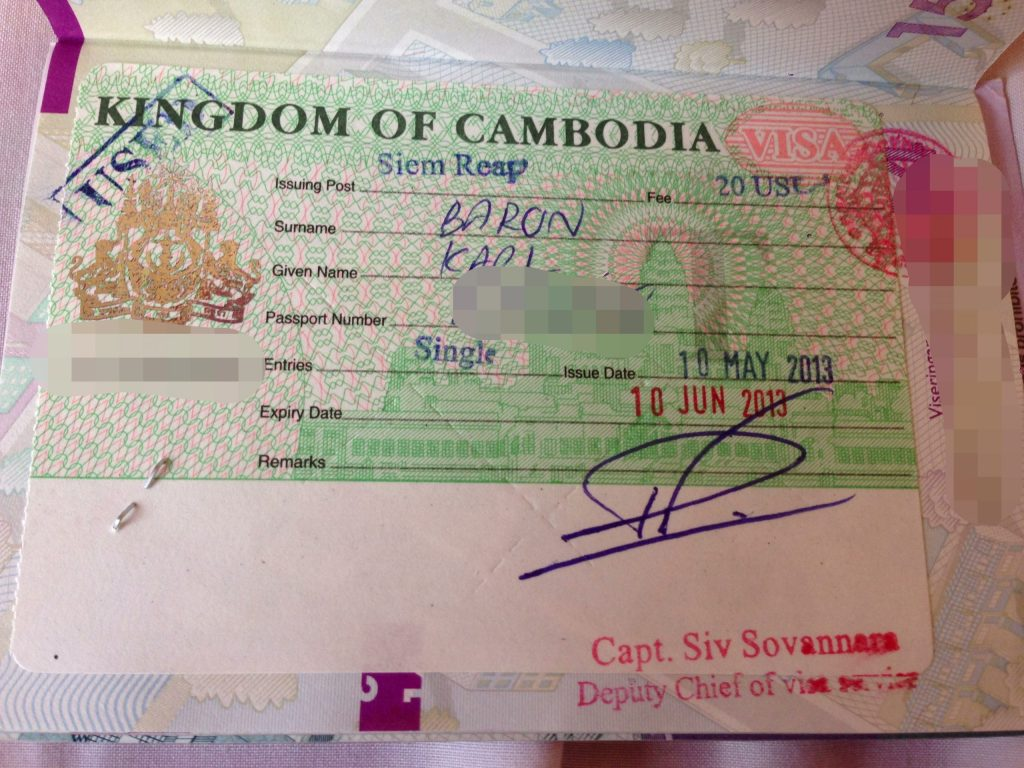 Fun Facts You Need to Know Before Visiting Cambodia, Visa