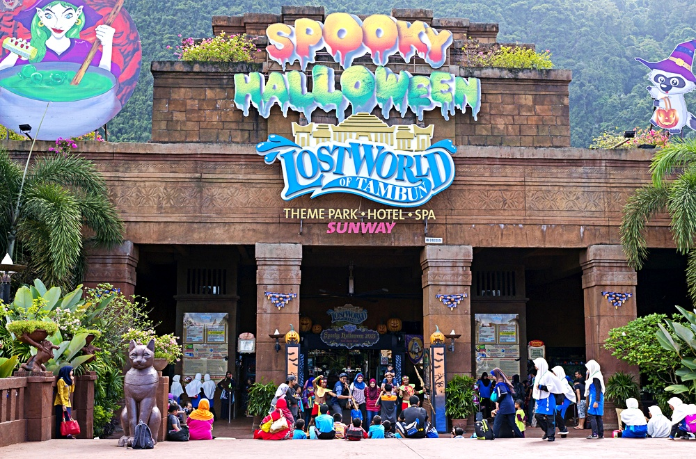 Best family retreat location in Malaysia includes the Lost World of Tambun