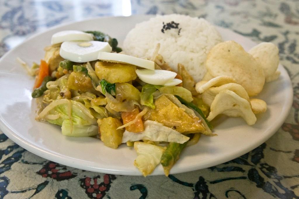 Gado-Gado salad has it all