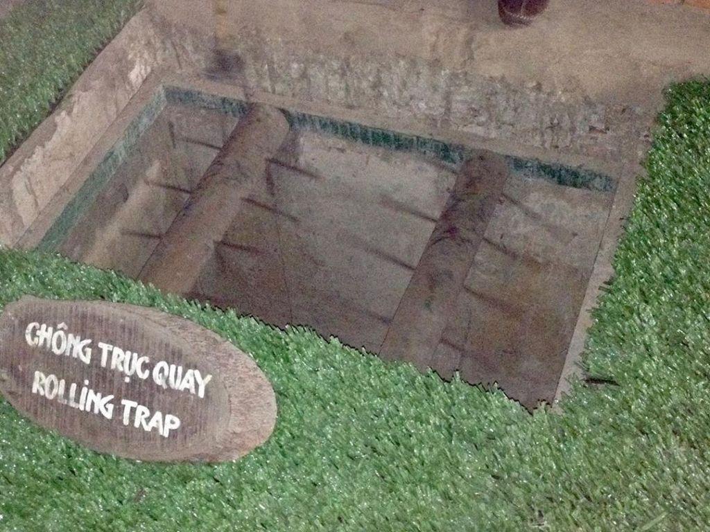 perangkap terowong cu chi