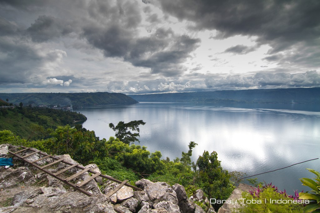 Danau Toba is Southeast Asia's largest freshwater lake and the largest volcanic lake in the world