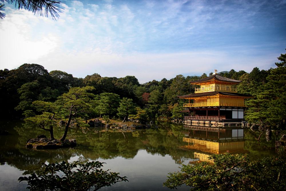 Kinkaku-ji, officially named Rokuon-ji, is a Zen Buddhist temple in Kyoto, Japan.