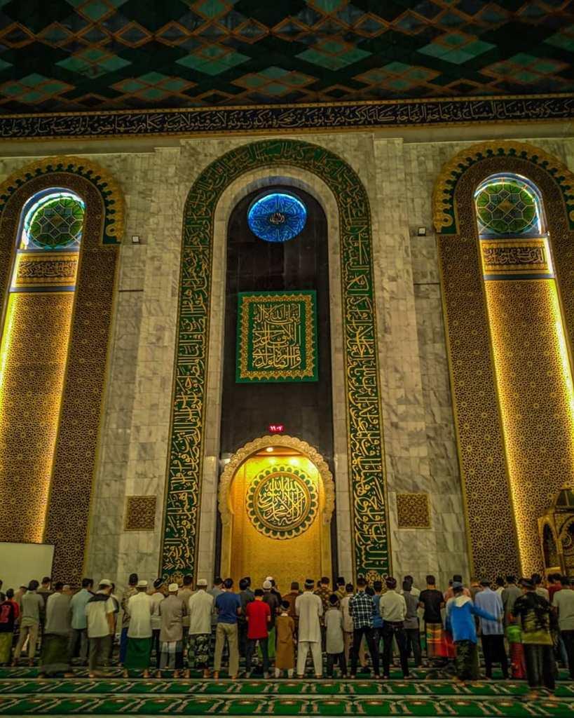 Amalan solat tarawih di bulan Ramadan