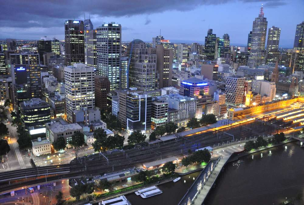 Explore Melbourne's Central Business District