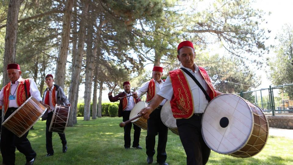 Pemain Drum Turki