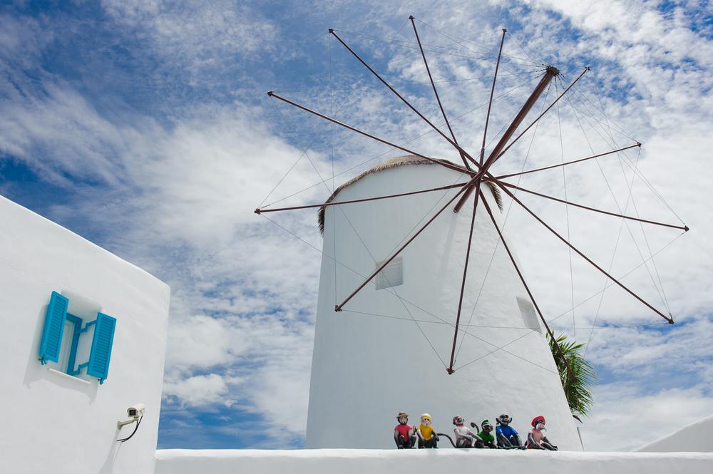 Taman Hiburan Santorini akan membuat anda rasa seperti betul-betul di Greece