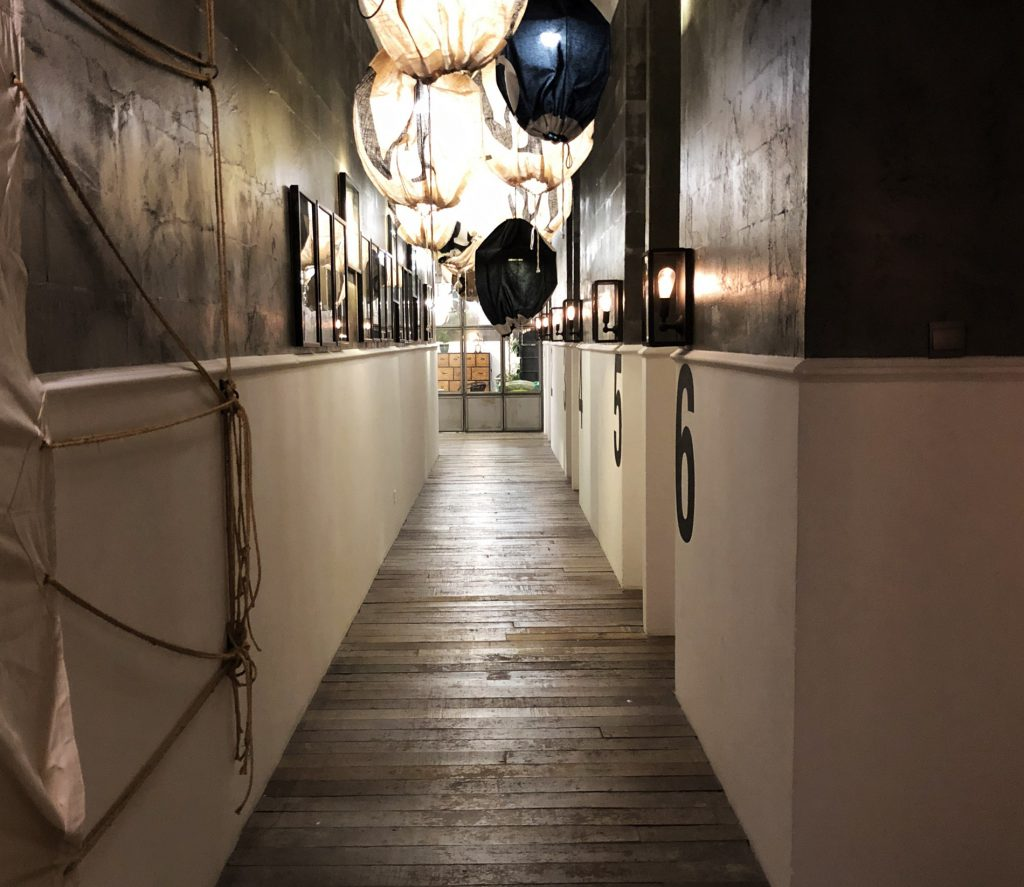 Hallway di M Boutique Hotel Station 18