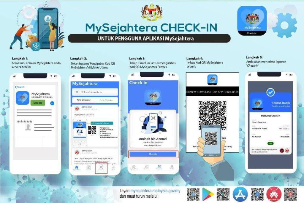 How To Check In On MySejahtera App During Quarantine