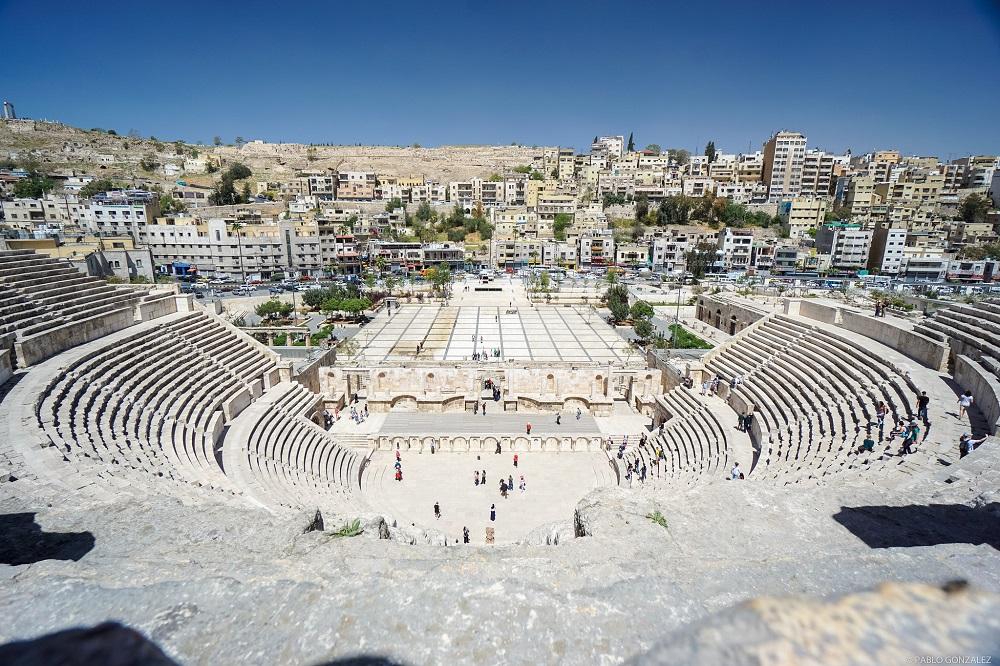 Jordan Muslim Friendly Itinerary, Roman Theatre