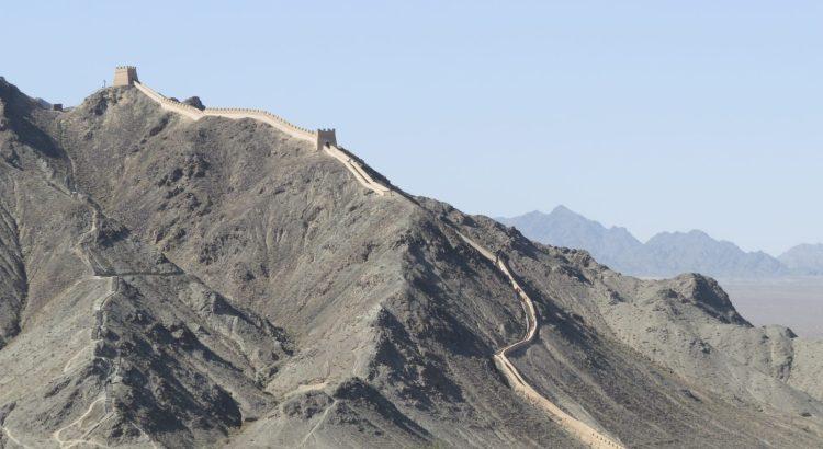Gran Muralla Alternativa en Jiayuguan
