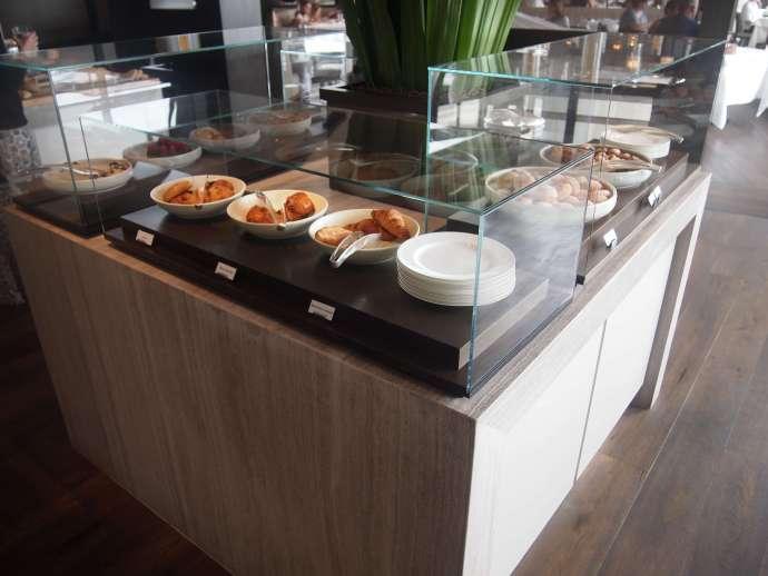 在雪梨的Park Hyatt的早餐Buffet
