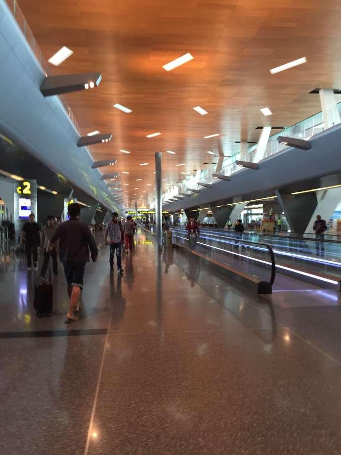 DOH航廈,裝潢頗為新穎
