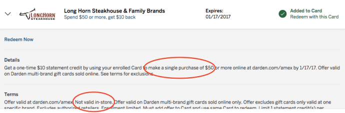 amex offer 2