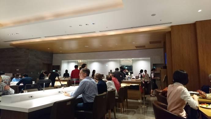 用餐區一景