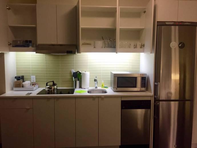 房間裡的廚房
