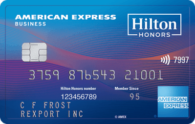 American express hilton honors business enhanced co branded credit card type hotel rewards card reheart Image collections