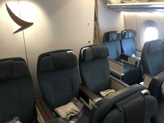 [Justin飛行紀錄]國泰航空特選經濟艙(豪華經濟艙)/HKG~NRT 香港~東京成田