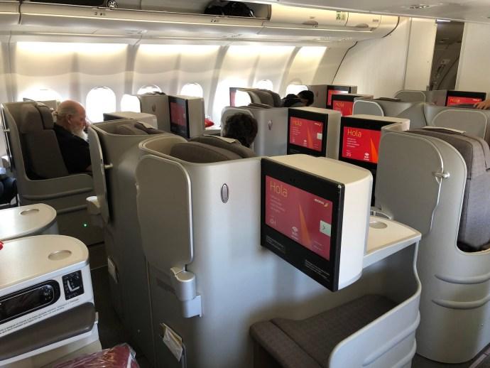 [萊恩飛行紀錄] 伊比利航空商務艙/MAD ~ LAX 馬德里~洛杉磯