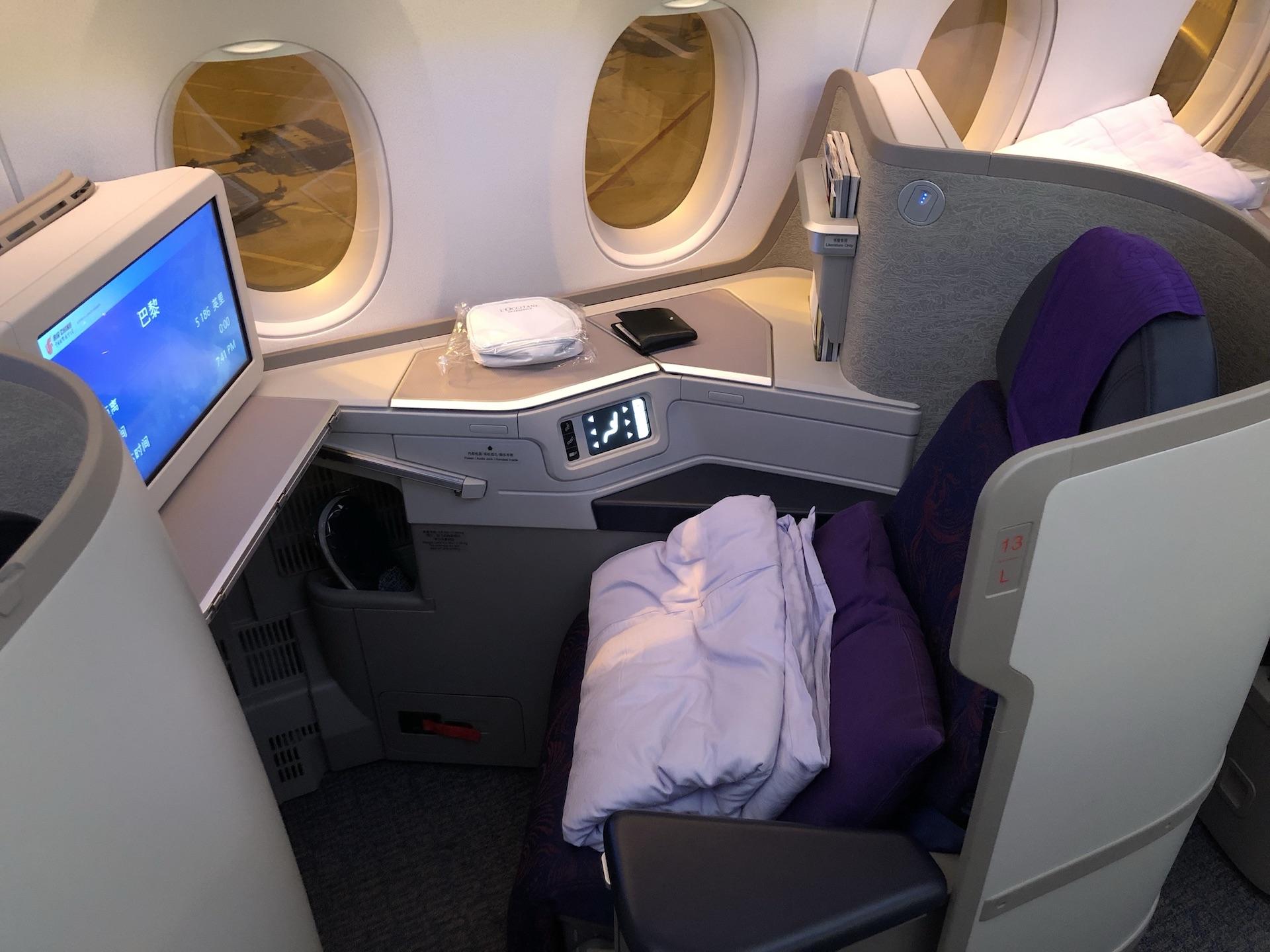 [萊恩飛行紀錄] Air China Business Class 中國國際航空商務艙/PEK ~ CDG 北京~巴黎(Airbus A350-900機型)   TripPlus