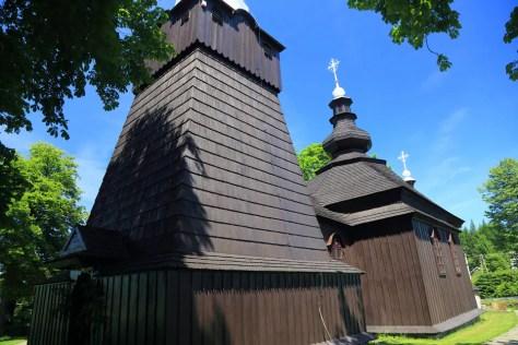 Brunary Wyżne -cerkiew św. Michała Archanioła