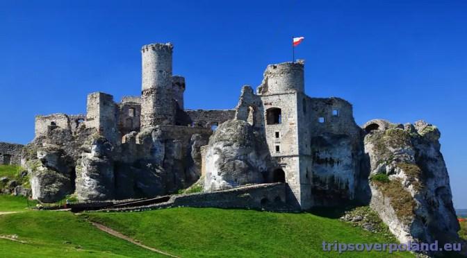 Najpiękniej położone polskie zamki (7) – Zamek Ogrodzieniec – Podzamcze