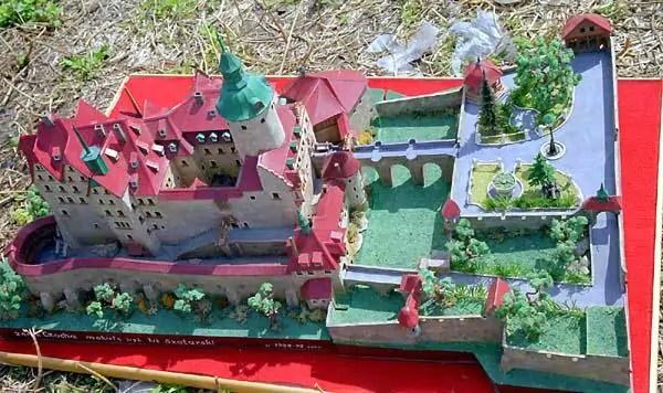 Zamek Czocha - makieta