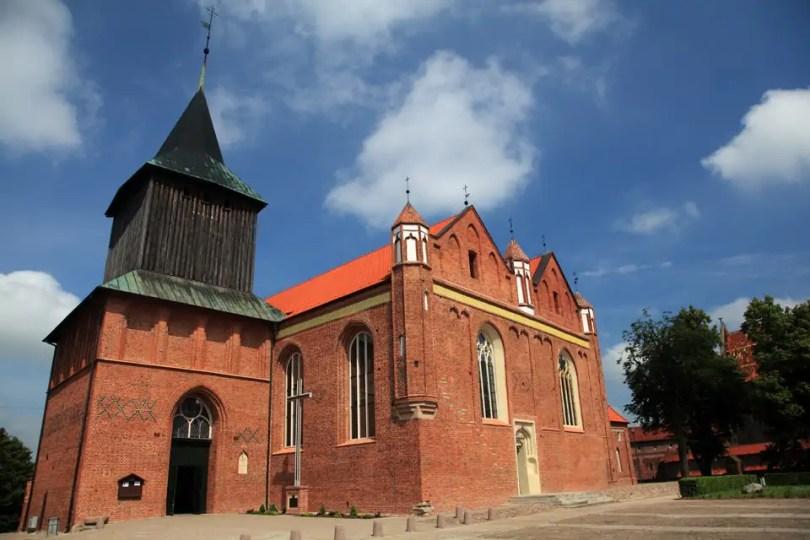 Malbork - kościół św. Jana