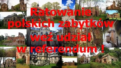 Ratowanie polskich zabytków - E-referendum na Facebooku