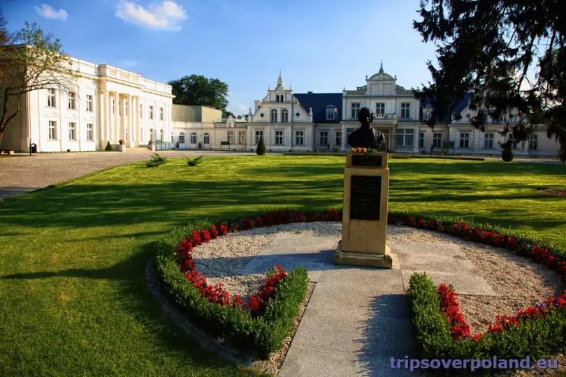 Turzno - Pałac Romantyczny - pomnik Fryderyka Chopina