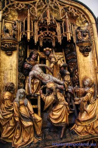 Tryptyk antwerpski - zdjęcie z krzyża