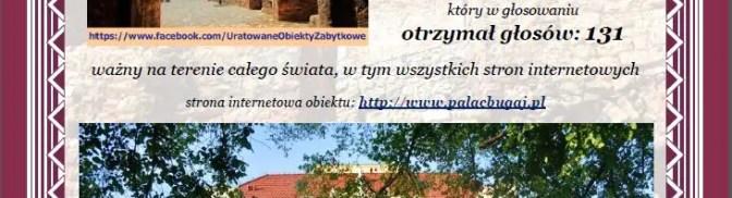 """6 certyfikatów konkursu """"Doceniony przez społeczność Uratowanych obiektów zabytkowych w Polsce"""""""