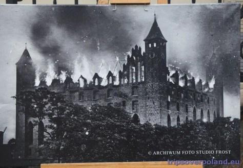 Pożar zamku