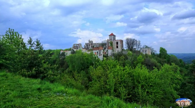 NAJPIĘKNIEJ POŁOŻONE POLSKIE ZAMKI (36) – Zamek Tenczyn w Rudnie