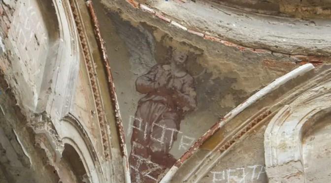 Mauzoleum Wollerów w Leśnej, fragment sklepienia