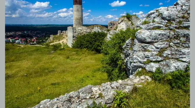 Zamek Królewski w Olsztynie koło Częstochowy – dopełnienie krajobrazu Jury