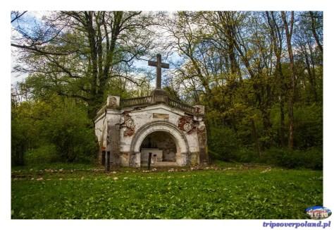 Pałac Mała Wieś - mauzoleum