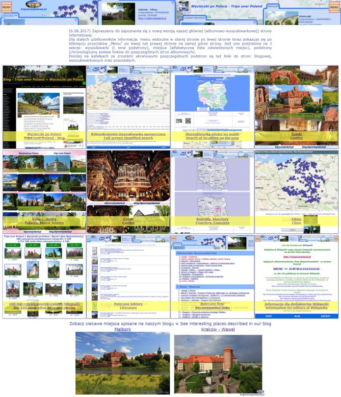 Nowa wersja naszej strony tripsoverpoland.pl