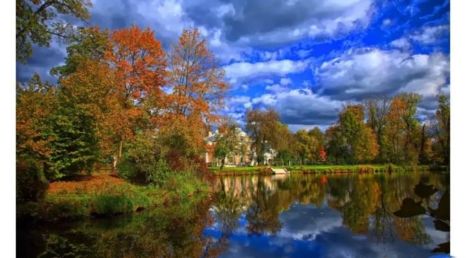 Złota jesień w pięknych zakątkach Polski