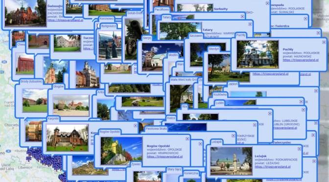 Wycieczki po Polsce – nowe miejsca, nowe zdjęcia, nowe filmy i szyfrowane strony