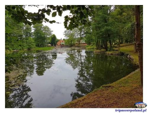 Zamek Tuczno'2018 - zbiornik wodny pod zamkiem
