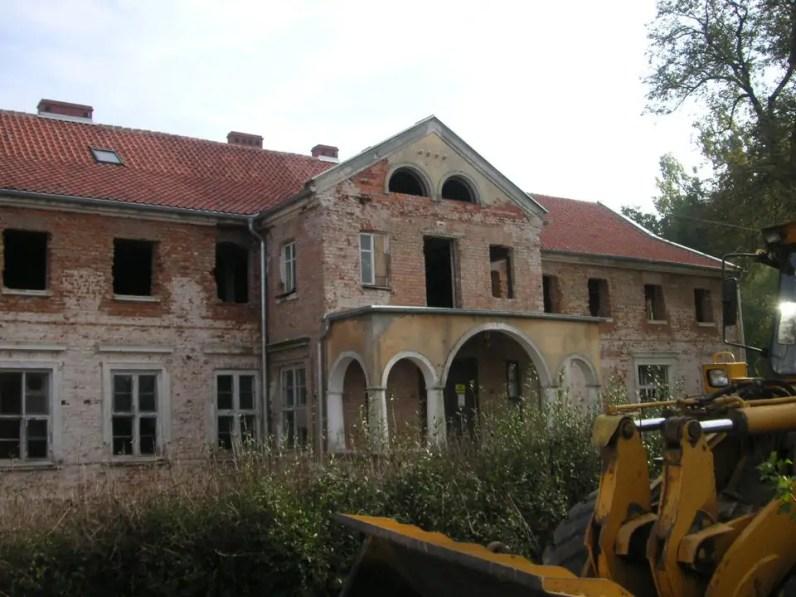 Dwór Kaliszki z okresu po zakupie
