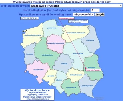 Mapa - Kraczewice_Prywatne