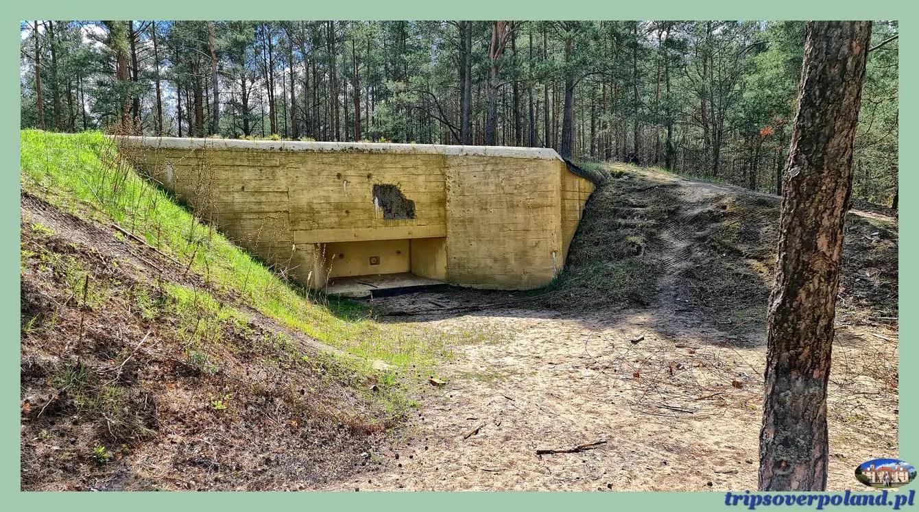 Dąbrowiecka Góra - Bunkry