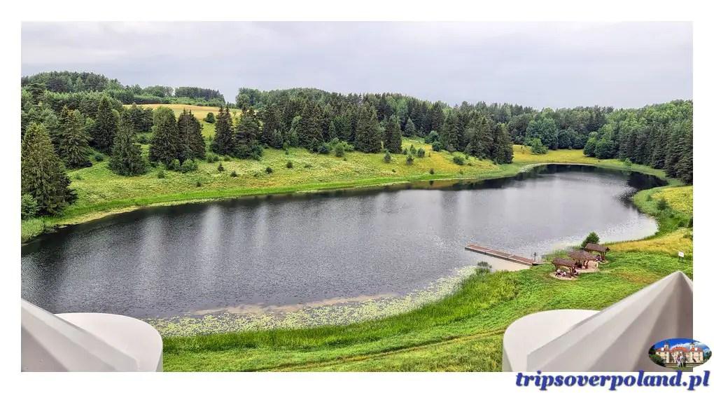 Stańczyki - jezioro Dobellus Duży