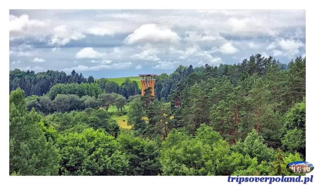 Stańczyki - mosty - wieża widokowa