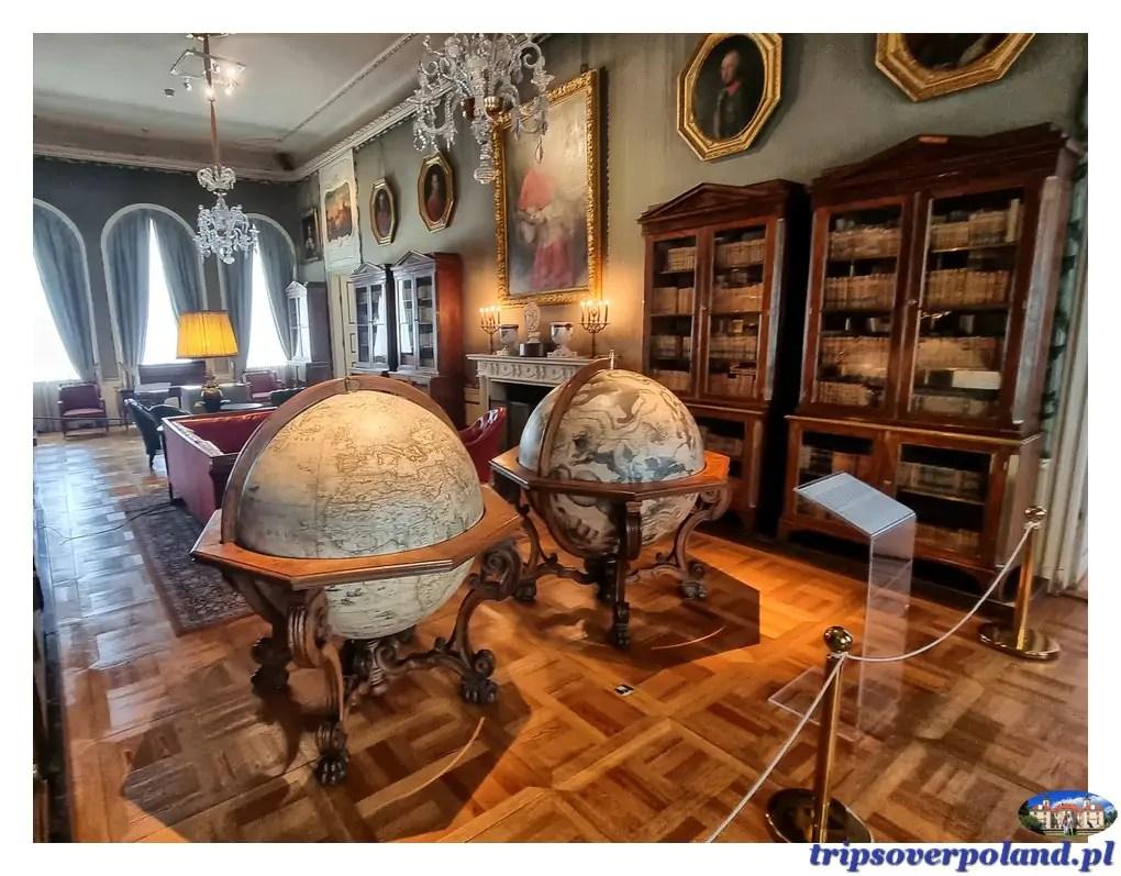 Pałac w Nieborowie'2021 - biblioteka